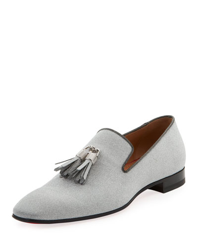 Men's Rivalion Glitter Tassel Loafer