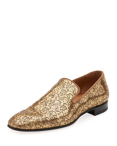 Men's Dandelion Laser-Cut Loafer