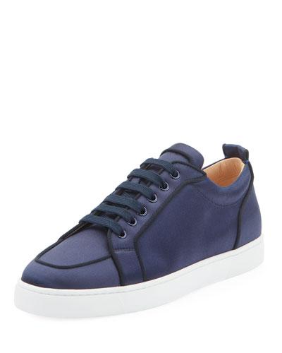Men's Rantulow Orlato Low-Top Silk Sneakers