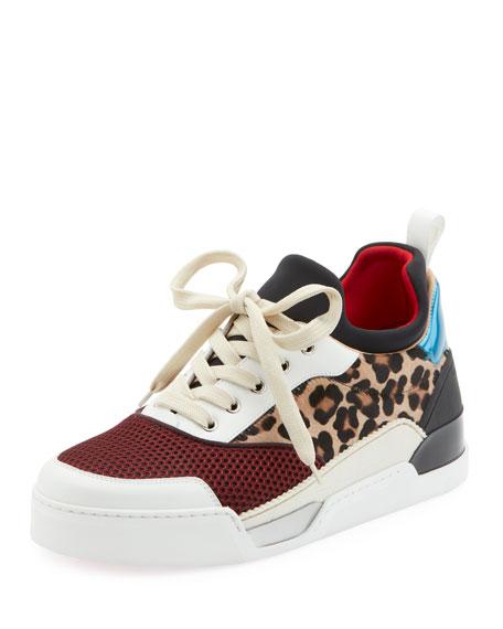 91737668508 Christian Louboutin Men s Aurelien Colorblock Low-Top Sneakers