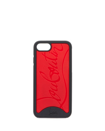 Embossed Logo LoubiPhone Case for iPhone® 8