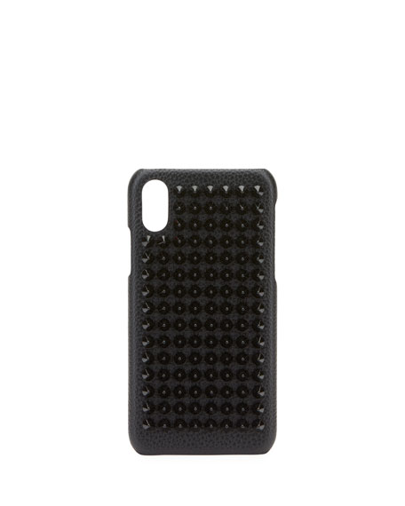 2d045061647 Studded LoubiPhone Case for iPhone® X Black