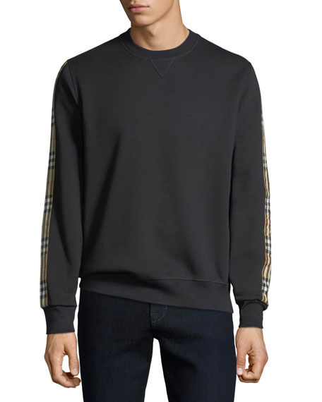 Image 1 of 1: Men's Camilla Check-Striped Sweatshirt
