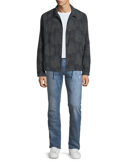 Men's Byron Classic Straight-Leg Jeans, Transfer