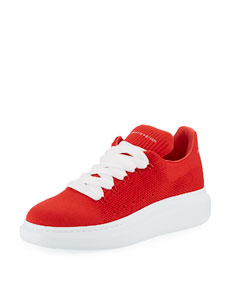 Men's Knitted Oversized Low Top Sneakers by Alexander Mc Queen