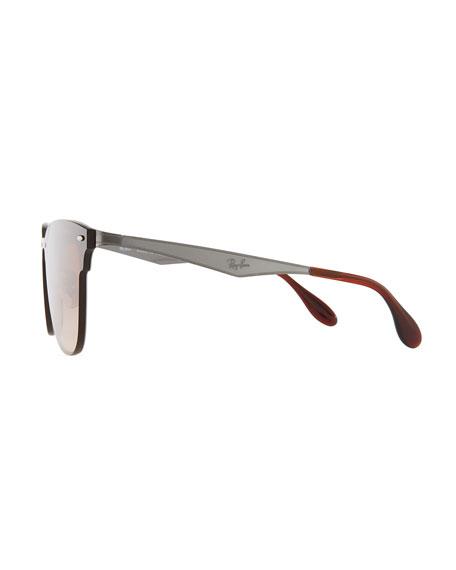 Blaze Clubmaster Lens-Over-Frame Men's Sunglasses