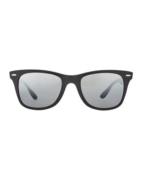 Wayfarer Literforce Gradient Mirrored Men's Sunglasses