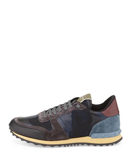 1bb292362429 Valentino Men s Rockrunner Camo-Print Sneakers