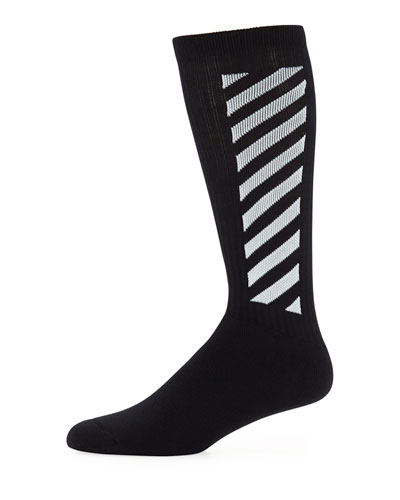 Men's Wing Off Diagonal Socks
