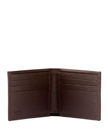 c19fd75163a6b Salvatore Ferragamo Men s Revival Bi-Fold Lizard-Embossed Leather Wallet