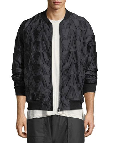 Kvasir Textured Satin Jacket