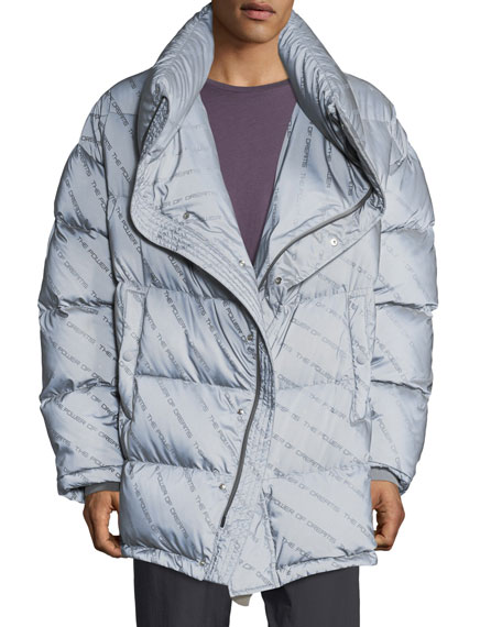 Balenciaga Men's Power of Dreams Puffer Jacket