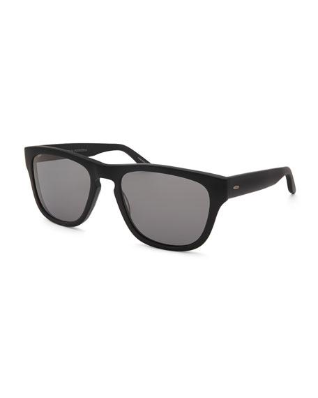 Barton Perreira Men's Bunker Square Plastic Sunglasses
