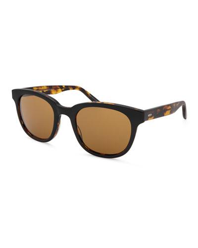 Men's Thurston Plastic Square Sunglasses