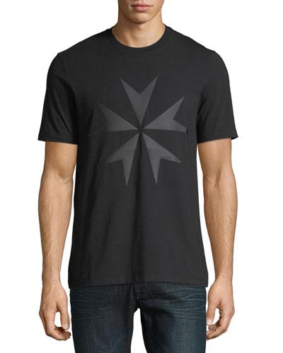 Men's Military Star Graphic T-Shirt