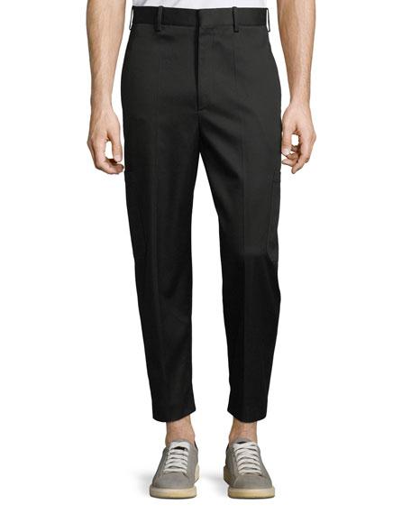 Neil Barrett Men's Multi-Pocket Cotton-Blend Pants