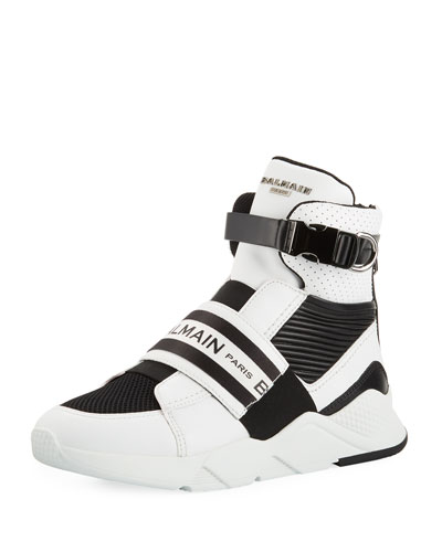Men's Exton High-Top Sneakers with Contrast Trim