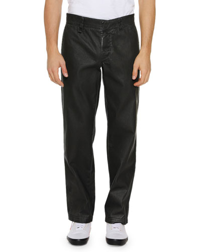 Men's Straight-Leg Cotton Chino Pants