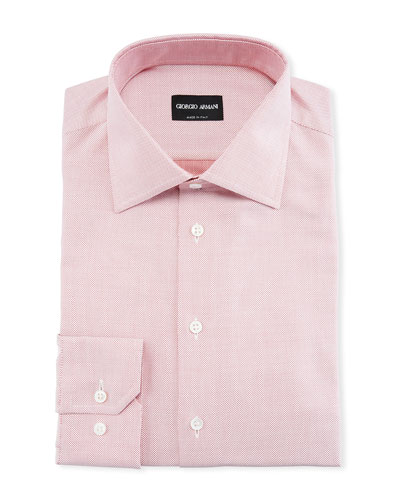 Men's Micro-Dot Dress Shirt