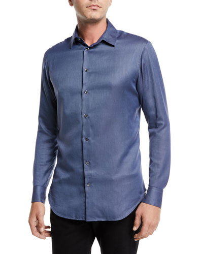 Men's Micro-Dot Sport Shirt