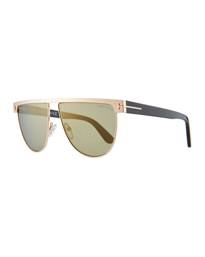 Men's Stephanie Metal Sunglasses