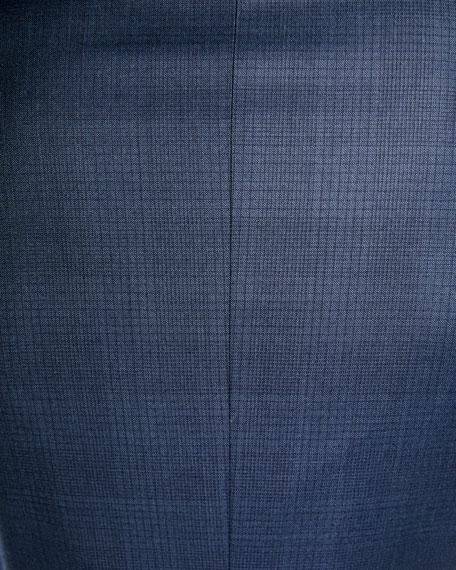 Ermenegildo Zegna Men s Tonal Plaid Two-Piece Wool Suit 75278fcd99fa