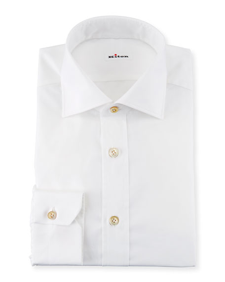 Broadcloth Dress Shirt, White