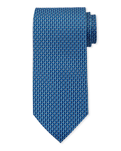 3D Gancio Silk Tie