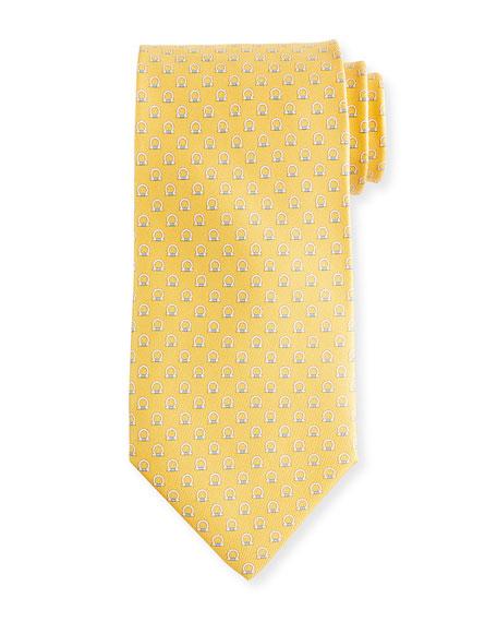 Salvatore Ferragamo Feudo Gancio Silk Tie