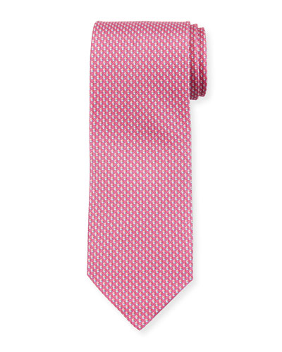 Acorn Silk Tie, Pink