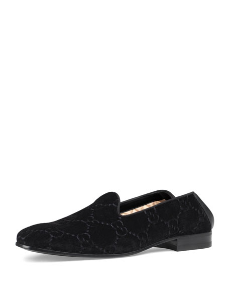 GG Velvet Loafer