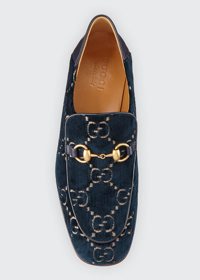Mister GG Velvet Fold-Down Loafer
