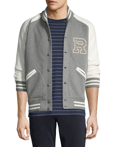 Men's Two-Tone Varsity Jacket