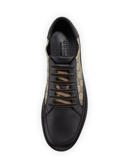 ca0c1de67 Gucci Men's Common GG Supreme Low-Top Sneakers