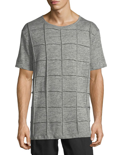 Men's Isly Grid-Knit T-Shirt