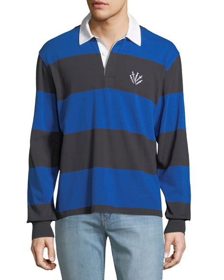 Rag & Bone Men's Rugby Polo Shirt with