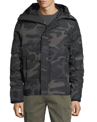Men's Macmillan Hooded Camo Parka Coat