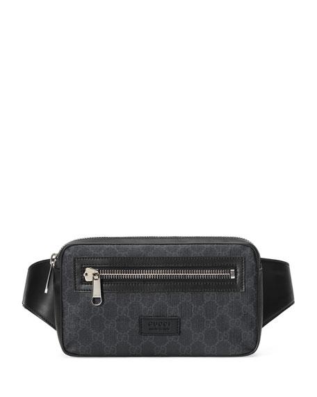 0f14f33325ac Gucci Men's GG Supreme Canvas Belt Bag/Fanny Pack