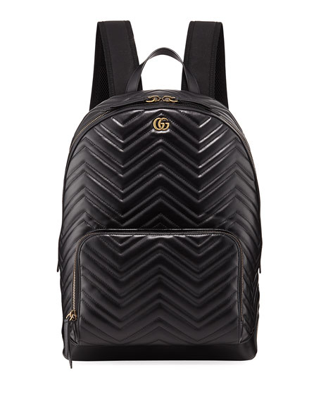 90da757306 Gucci Men s GG Marmont Quilted Leather Backpack