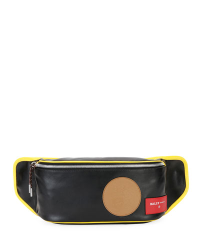Men's Break 70 Leather Belt Bag/Fanny Pack