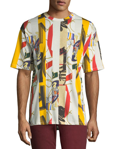 Men's Georgeston Graphic Cotton T-Shirt
