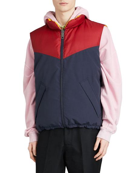 Burberry Men's Penwell Zip-Front Puffer Vest