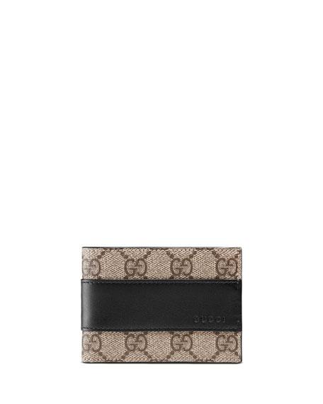 9159851042f Gucci Men s GG Supreme Wallet