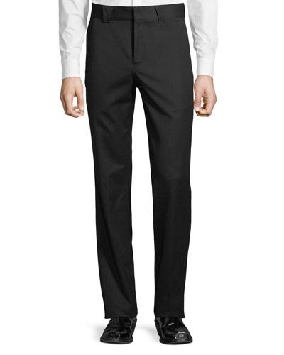 Men's Straight-Leg Trouser Pants