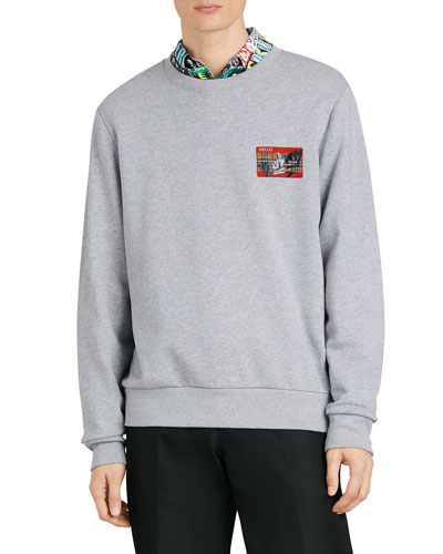 Men's Temporin Name-Tag Sweatshirt