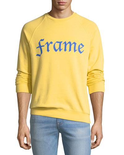 Logo Graphic Raglan Sweatshirt