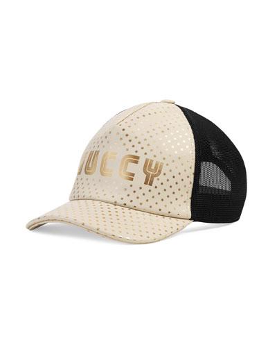 Guccy Logo-Front Baseball Cap