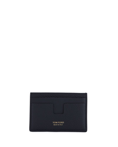 Men's Calf Leather Card Holder