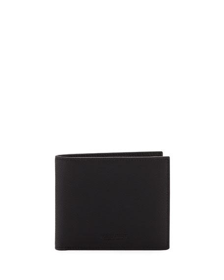 8323f17aa7 Men's Tumbled Leather Bi-Fold Wallet