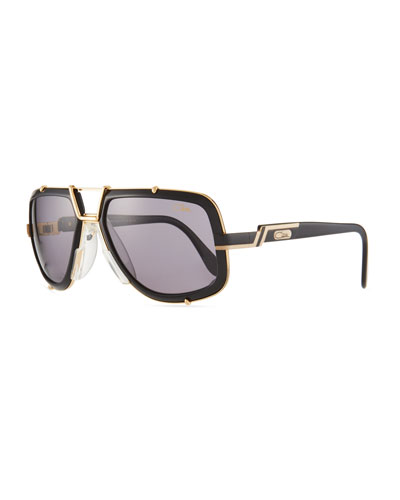 4cc18647d498 Men s 61mm Square Acetate Metal Aviator Sunglasses Quick Look. Cazal